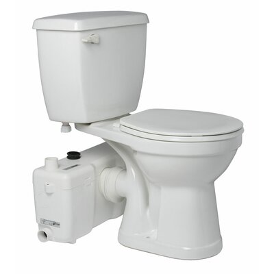 1.6 GPF Round 2 Piece Toilet Product Photo