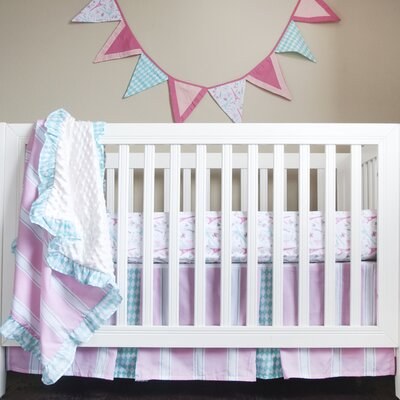 Simply Posh 4 Piece Crib Bedding Set by Pam Grace Creations