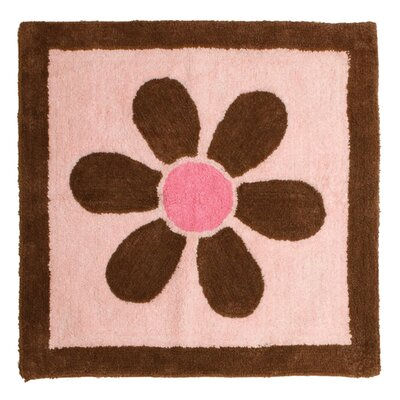 Pam's Pink Petals Rug by Pam Grace Creations