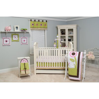 Sophia's Garden 10 Piece Crib Bedding Set by Pam Grace Creations