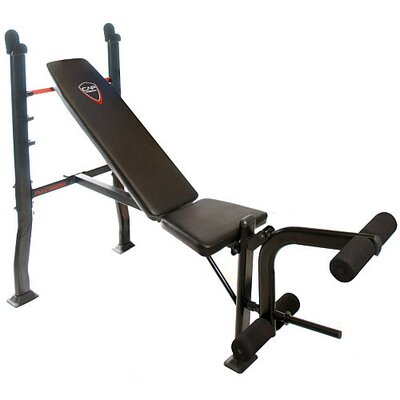 Strength Standard Weight Olympic Bench with Attachment by Cap Barbell