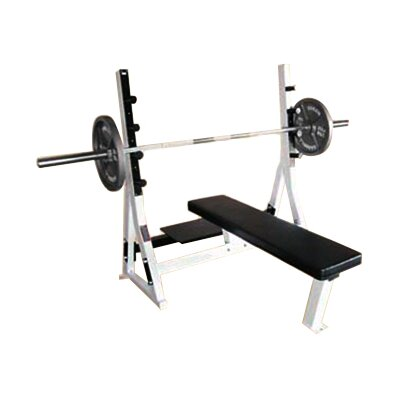 Commercial Flat Olympic Bench by Yukon Fitness