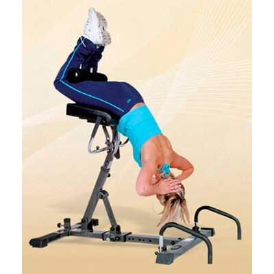 Total Back System Hyperextension Bench by Yukon Fitness