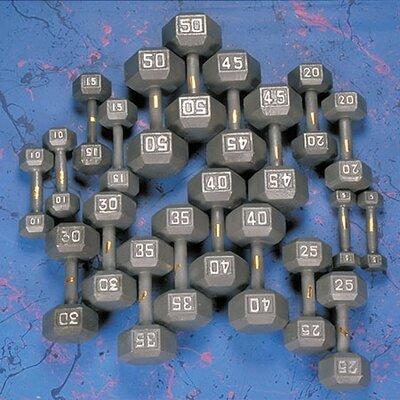 Yukon Fitness Hex Dumbbell Set with Rack