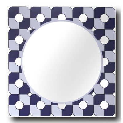 Midnight Decorative Wall Mirror by Leick