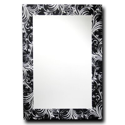 Leaf Silhouette Decorative Wall Mirror by Leick