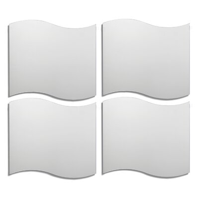 Wavy Tile Decorative Wall Mirror by Leick