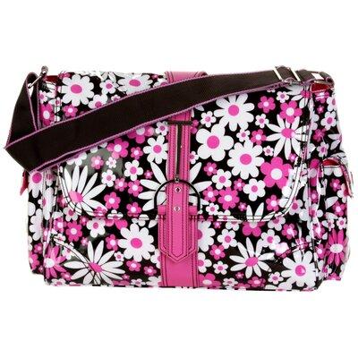 Multitasker Daisy Day Messenger Bag by Hadaki