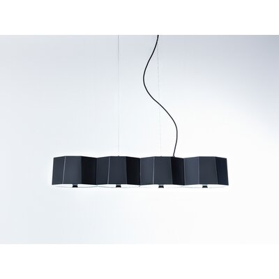 Zhe 4 Light Pendant by SeedDesign
