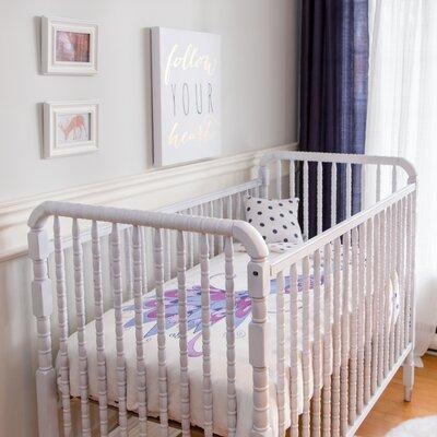 Peacock 4 Piece Organic Baby Microfiber Duvet Crib Bedding Set by Atelier ëdele