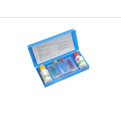 Deluxe 2-Way Swimming Pool Test Kit with Case by Pool Central