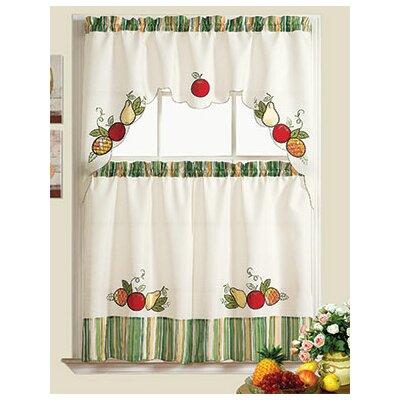 Exceptionnel Orchard Garden Kitchen Curtain