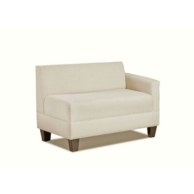 Makenzie Right Arm Loveseat by Carolina Accents