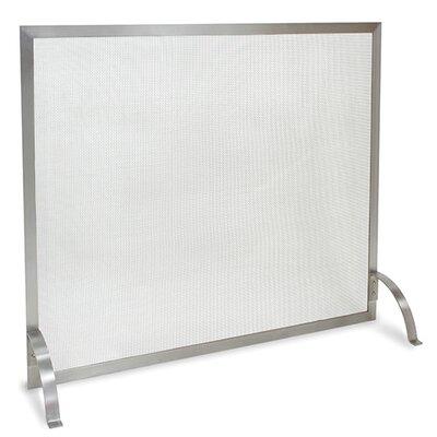 Newport 1 Panel Steel Fireplace Screen by Pilgrim Hearth