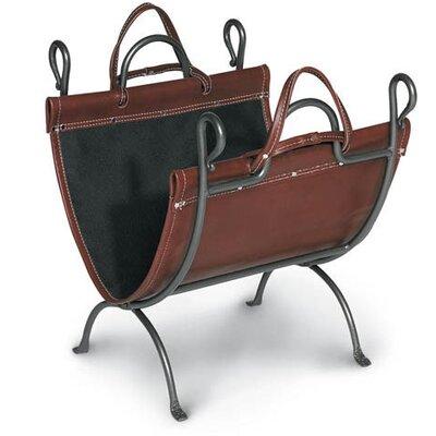 Anvil Log Carrier by Pilgrim Hearth
