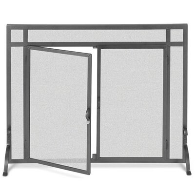 1 Panel Forged Iron Fireplace Screen by Pilgrim Hearth
