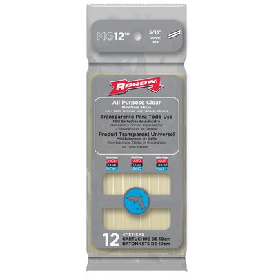 "Arrow Fastener 4"" All Purpose Mini Glue Stick (Pack of 12)"