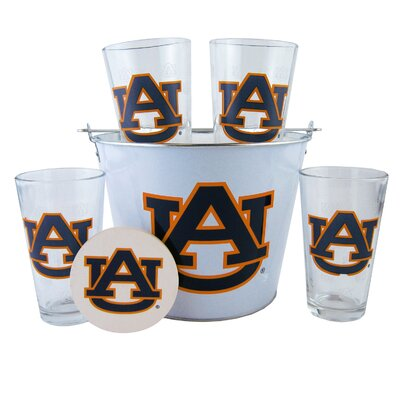 NCAA 9 Piece Gift Bucket Set by Boelter Brands