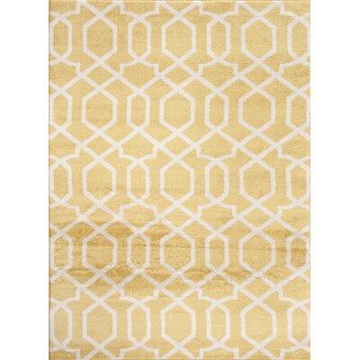 Toscana Yellow Indoor Area Rug by World Rug Gallery