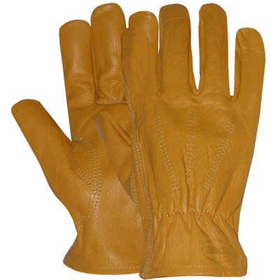 Boss Manufacturing Company Large Unlined Premium Grain Leather Gloves