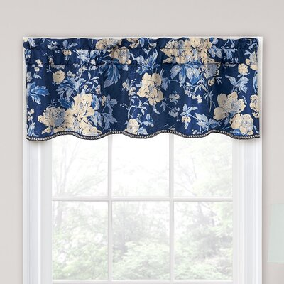 "Forever Yours Floral 52"" Curtain Valance Product Photo"