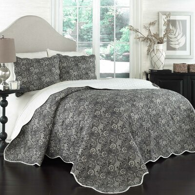 Paddock Shawl 3 Piece Quilt Set by Traditions by Waverly