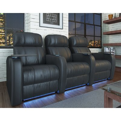 Diesel XS950 Home Theater Recliner (Row of 3) by OctaneSeating