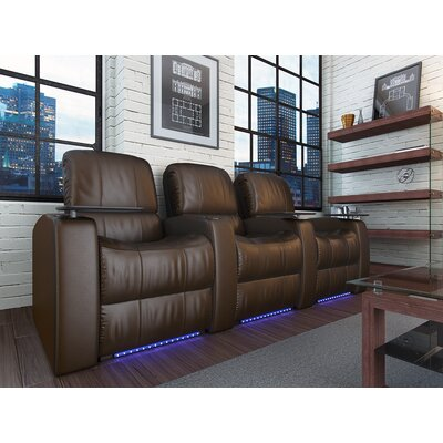 Blaze XL900 Home Theater Recliner (Row of 3) by OctaneSeating