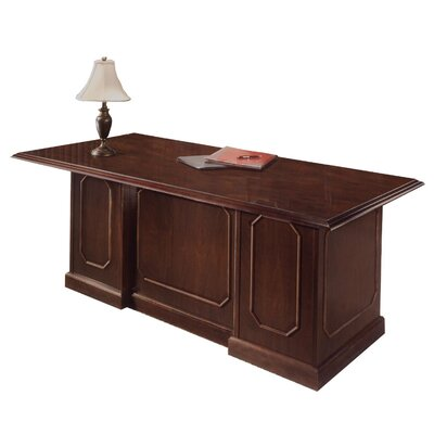 "Flexsteel Contract Governor's 72"" W Executive Desk"