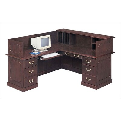 Flexsteel Contract Governor's L-Shape Reception Desk
