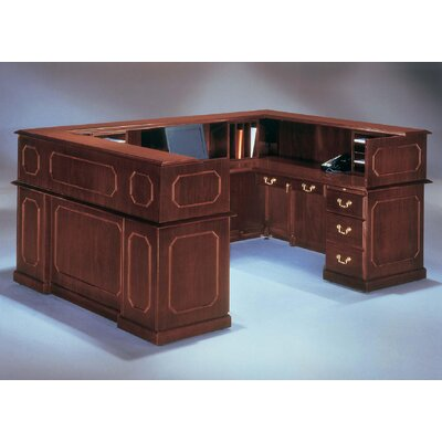 Flexsteel Contract Governor's U-Shape Reception Desk
