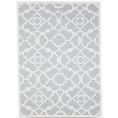 Monaco Slate Gray Indoor/Outdoor Area Rug by BudgeIndustries