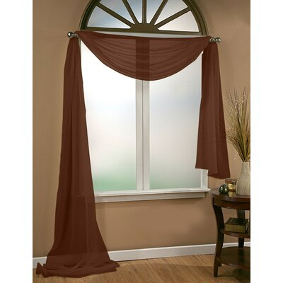 Infinity Sheer Window Scarf Polyester Curtain Valance Product Photo