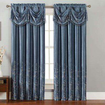 Felice Single Curtain Panel Product Photo