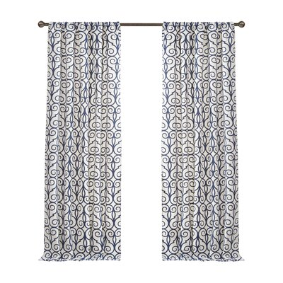 Clinton Drape Curtain Panel (Set of 2) Product Photo