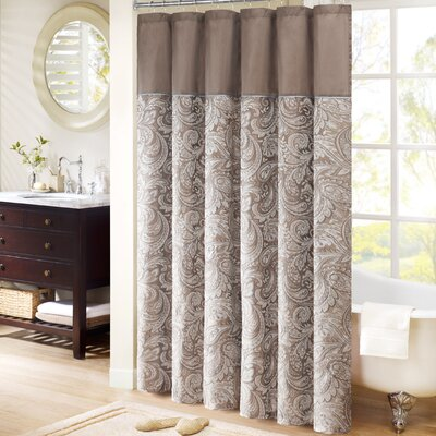 Madison park aubrey shower curtain reviews wayfair - Madison park bathroom accessories ...