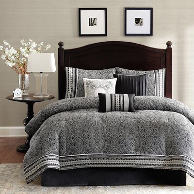 Barton 7 Piece Comforter Set by Madison Park