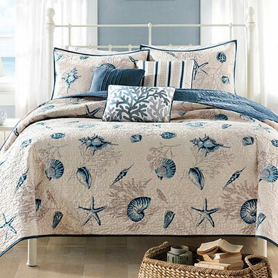 Bayside Coverlet Set by Madison Park