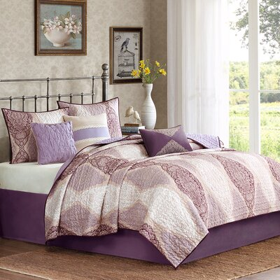 Callaway 6 Piece Coverlet Set by Madison Park