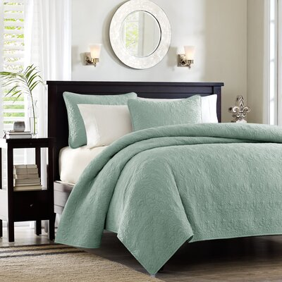 Quebec Coverlet Set in Seafoam by Madison Park