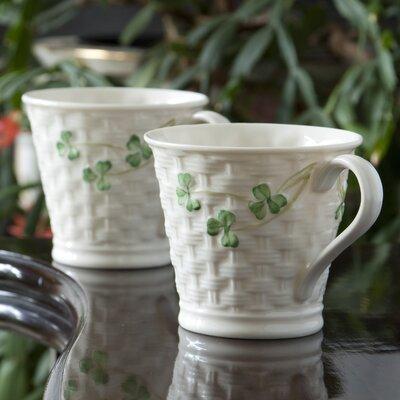Belleek Group Shamrock Mug