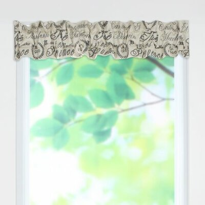 Tea House Sleeve Topper Valance Product Photo