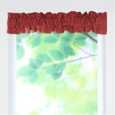 "Circa Solid Sleeve Topper 54"" Curtain Valance Product Photo"