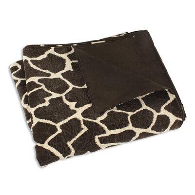 Brite Ideas Living Giraffe Super Soft Blanket