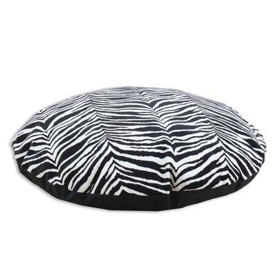 Brite Ideas Living Zebra Simply Soft Round Dog Pillow