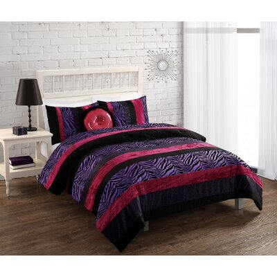 Passion 3 Piece Full/Queen Comforter Set by Bed Threads