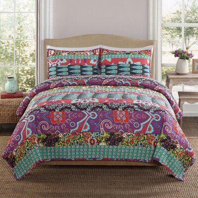 Zsa Zsa 3 Piece Quilt Set by Retro Gypsy Chic