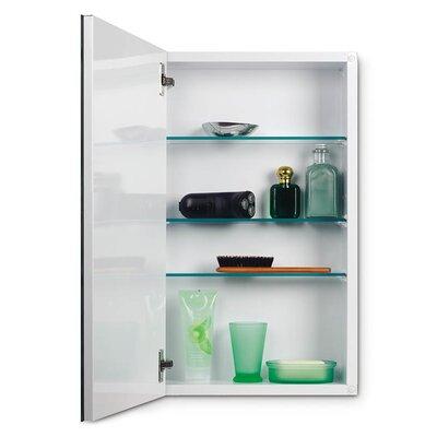"""14.25"""" x 24"""" Metro Recessed Flat Edge Medicine Cabinet Product Photo"""