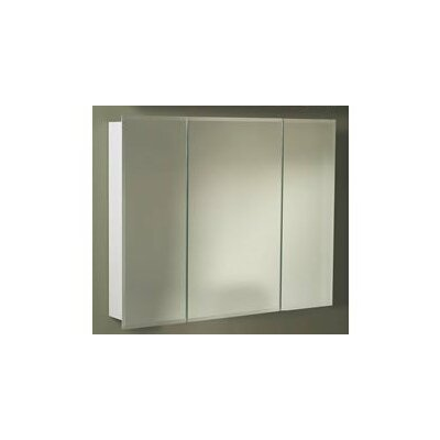 """Tri-View 48"""" x 28.9"""" Surface Mount Medicine Cabinet Product Photo"""