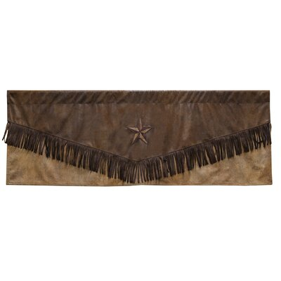 "Brown Mustang 54"" Curtain Valance Product Photo"